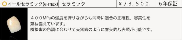オールセラミックe_max